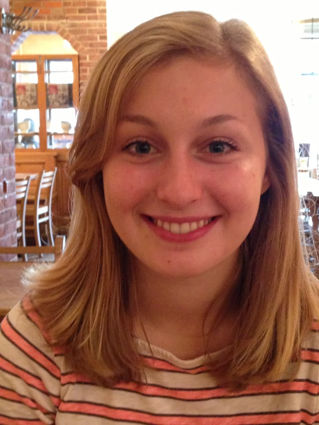 Abby Jenkins, a New Canaan resident, received the Community Service Award from the local Young Women's League.