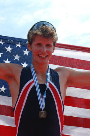 New Canaan's Andrew Campbell is one of several Fairfield County athletes on the USRowing Under-23 national team.
