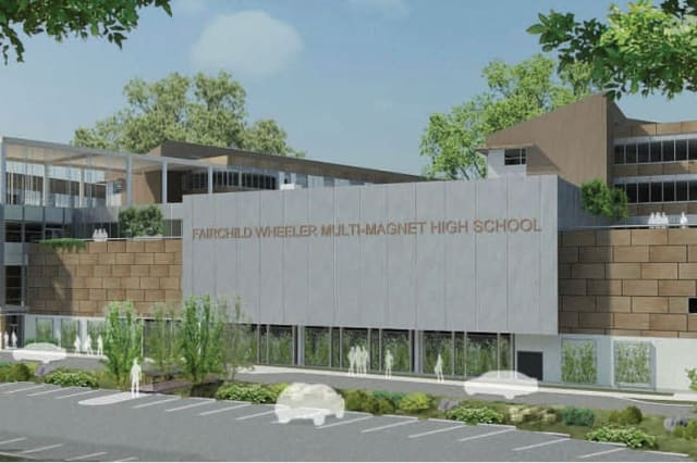 The three schools of the Fairchild Wheeler Interdistrict Magnet Campus will open this fall, with students from Bridgeport, Fairfield, Easton, Trumbull, Monroe, Stratford, Shelton and Milford.