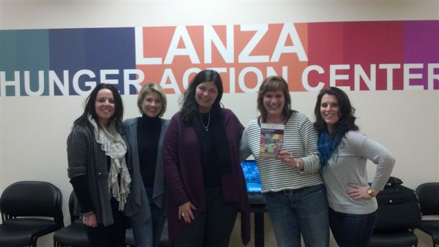 Felicia McCloskey, conference planning manager; Christine Squitieri, national sales manager; Jennifer Cancro of Ossining, senior national sales manager; Deborah Galper of Yorktown Heights, national sales manager; and Amanda DePalma of Sleepy Hollow.