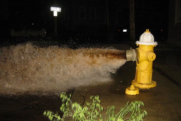 Hydrant flushing in Briarcliff Manor resumes this week.