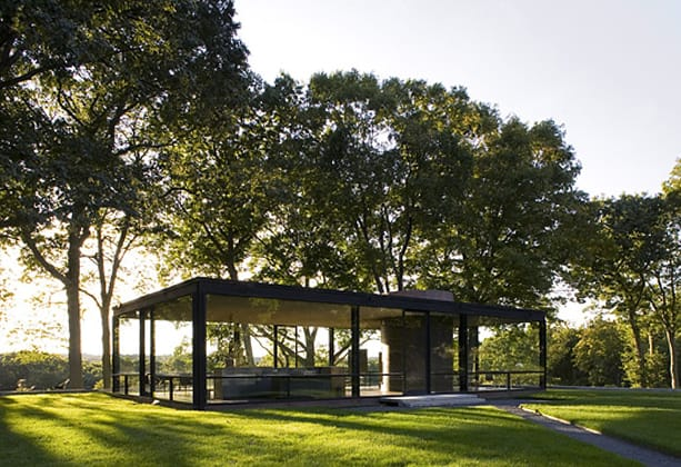 The Glass House in New Canaan will be featured on a PBS show on Thursday evening.