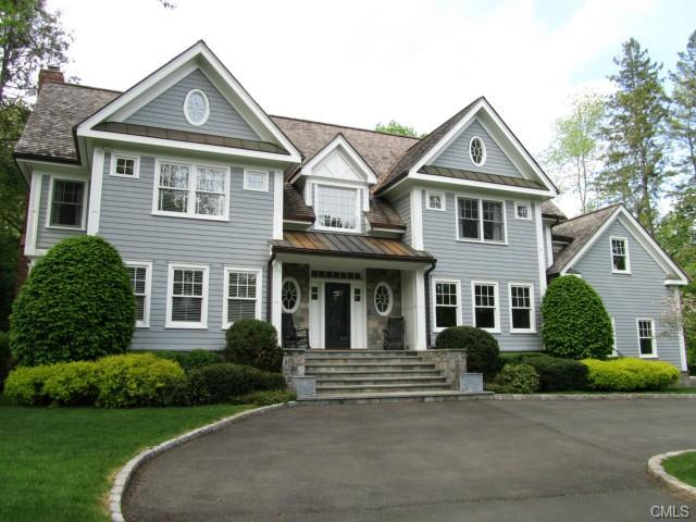 The home at 66 Elm Place, New Canaan recently sold for $2.85 million.
