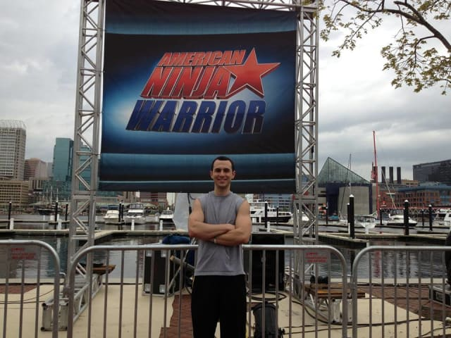 "Western Connecticut State University graduate Joseph Moravsky is competing on ""American Ninja Warrior."""