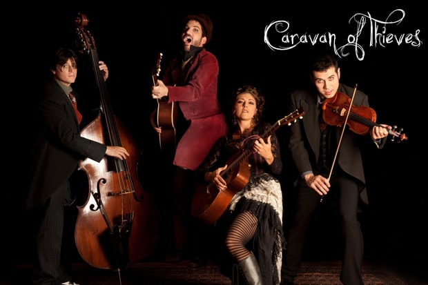 Catch a performance by Caravan of Thieves in Westport on Saturday night.