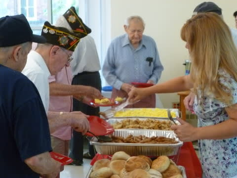 American Legion Veterans like these at a recent Veterans breakfast in Hastings, are being recruited to join the local American Legion post.
