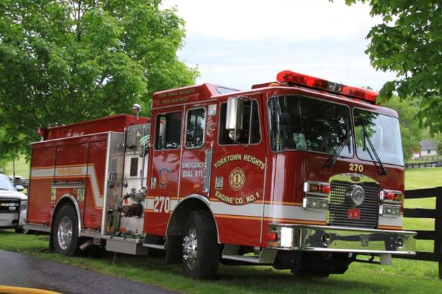The Yorktown fire that displaced one man from his home has been ruled accidental, according to the Yorktown Fire Department.