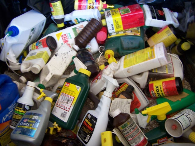 Household Hazardous Waste Day runs from 8 a.m. to 2 p.m. at The Wastewater Plant at 394 Main Street, New Canaan.