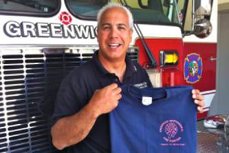 "Greenwich Firefighters will hold their annual ""Fill the Pink Boot"" campaign."