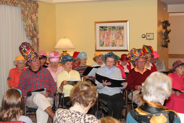 The Inn Notes recently performed their fall concert.