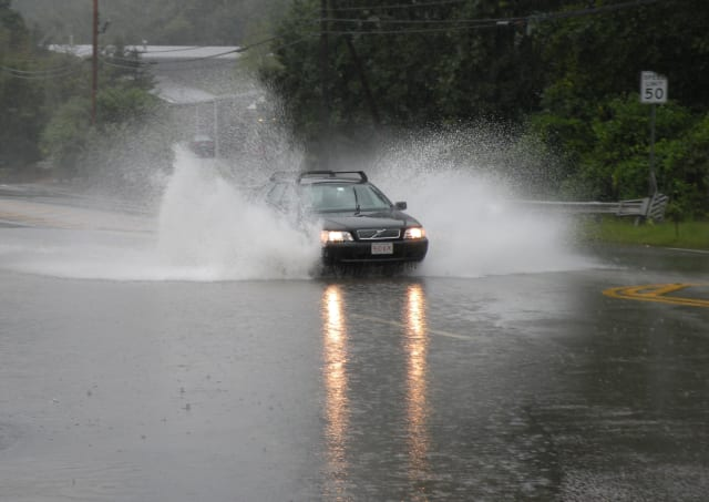 Heavy rains are predicted for Monday night throughout the Fairfield County area.