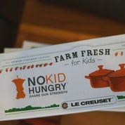 The No Kid Hungry dinner was a success.