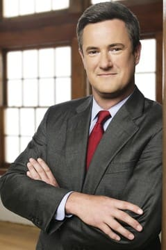 New Canaan resident Joe Scarborough recently divorced.