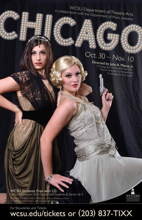 The final shows of WCSU's production of 'Chicago' will take place this weekend.