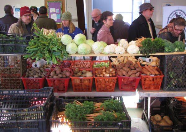 Winter farmers markets open in a town near you.