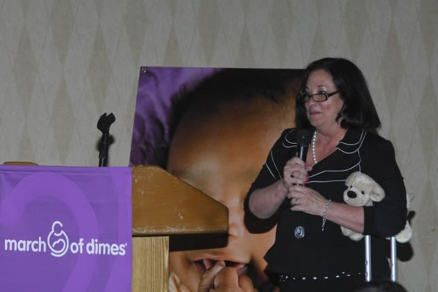 The March of Dimes recently named Kathy McShane as its new ambassador to help during the March of Dimes 75th anniversary celebration.