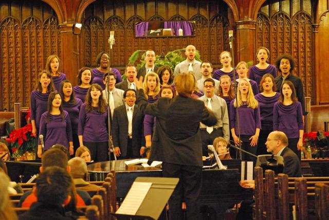 SymphoNYChorus performs its annual Christmas concert on Saturday, Dec. 14.