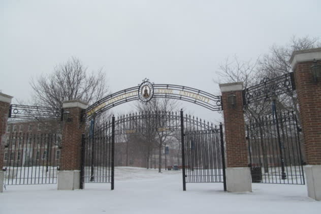 Exams will be postponed a day because Western Connecticut State University in Danbury will be closed Tuesday due to snow.