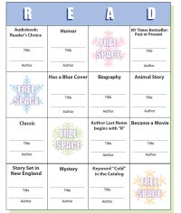 The Danbury Library is hosting Wild Winter Reading Bingo all winter long.