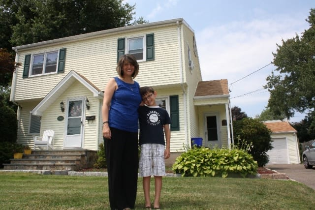 The Guastelle family of Fairfield learned how they can save money with a home energy assessment.