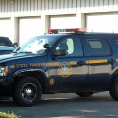 New York State Police are investigating a bank robbery that took place in Mamaroneck