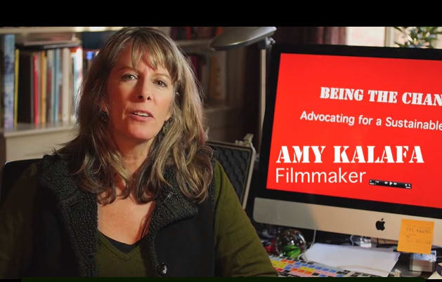 Weston filmmaker Amy Kalafa recently started a Kickstarter page to help fund a documentary series on highlighting advocates around the world.