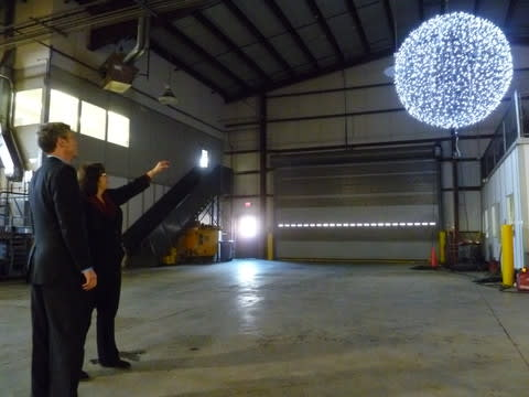 The White Plains New Year's celebration will be highlighted by the ball drop at midnight.