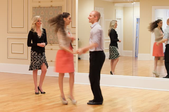 Arthur Murray dance studios in Greenwich and Danbury will donate money from private dance lessons in January to Stand Up To Cancer.