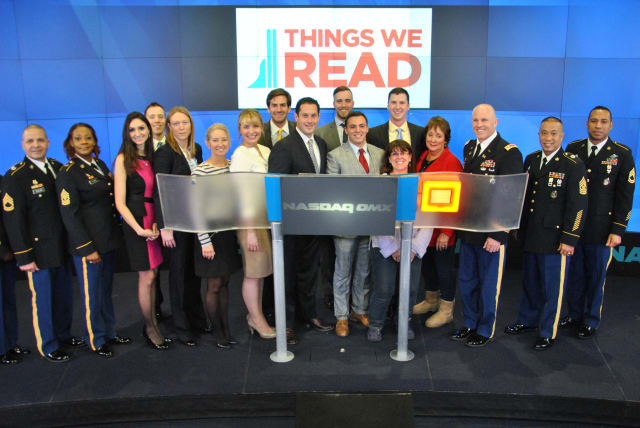 Sen. Greg Ball (R,C,I-Patterson) is a supporter of Things We Read is a nonprofit organization dedicated to serving soldiers deployed overseas.