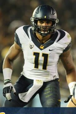 Stamford's Khairi Fortt, a linebacker at California, will give up his final year of college eligibility to enter the NFL Draft.