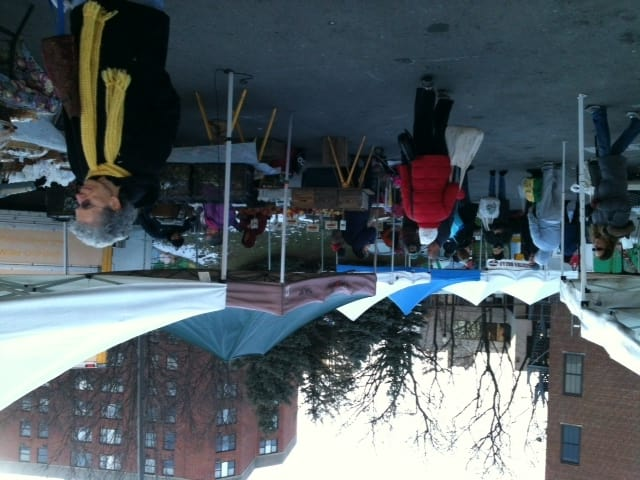 Opening day at the Ossining Winter Down to Earth Farmers Market