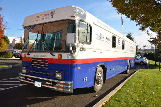 The new AmeriCares Stamford mobile unit will open on Thursday.