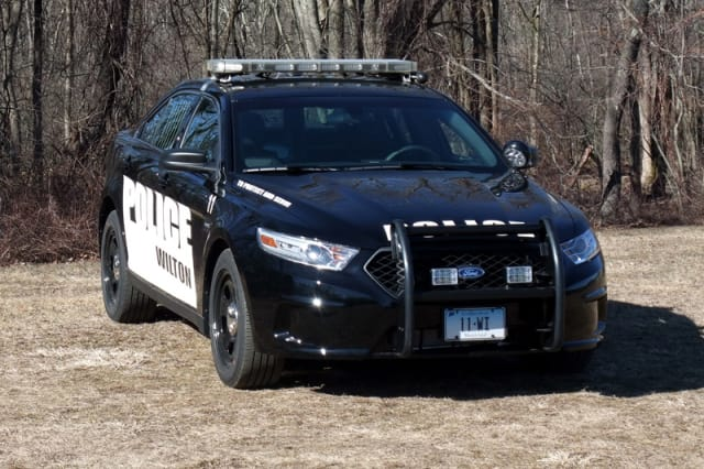 Wilton police charged two residents with drunken driving on New Year's Eve.