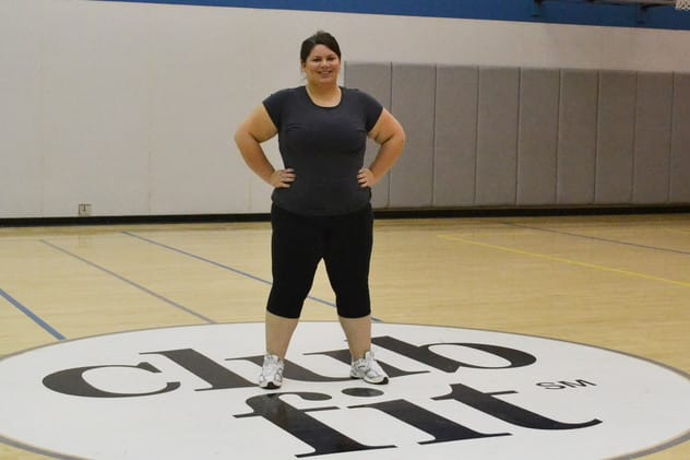 Club Fit Member Kendra Ekelund reflects on goals.