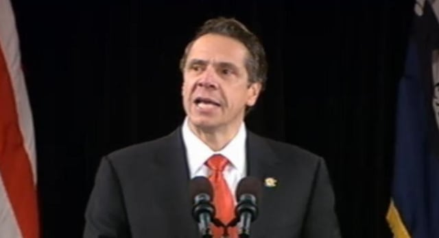 Gov. Andrew Cuomo gave his 2014 State of the State Wednesday from the capital.