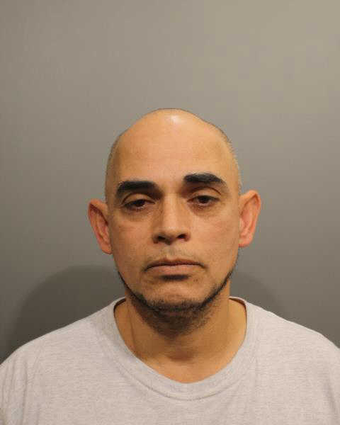 Norwalk resident Alvaro Lezcano is accused of trying to stealing a pair of jeans and a shirt from the TJ Maxx in Wilton.