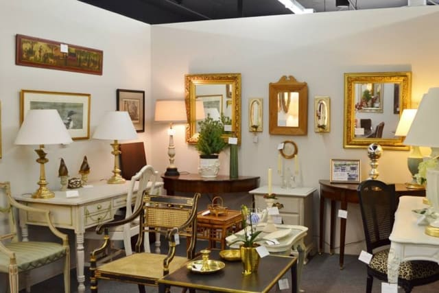 Fairfield County Antique & Design Center in Norwalk features finds from more than 100 antique dealers.