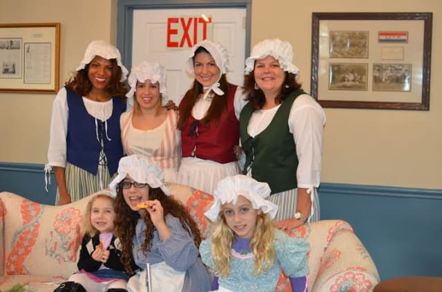 The Junior League of Central Westchester drew about 75 guests at a special December open house of Scarsdale's Wayside Cottage.