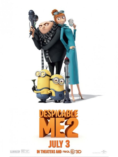 The Dobbs Ferry Recreation Department will host a family movie night on Jan. 25 with Despicable Me 2.