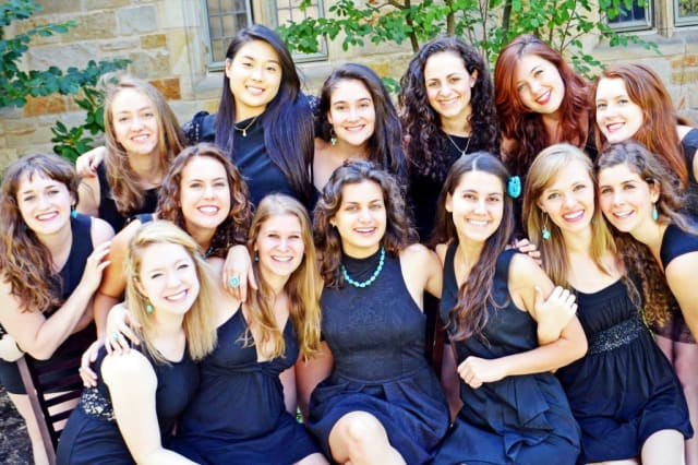Whim 'n Rhythm from Yale University will perform its acappella music at 2 p.m. Sunday at the New Canaan Library.