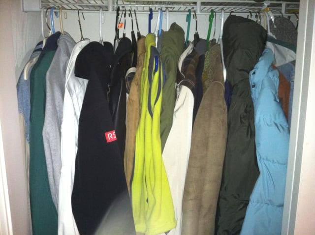 A Greenwich man teamed up with a local organization to deliver 80 coats to people in need recently.