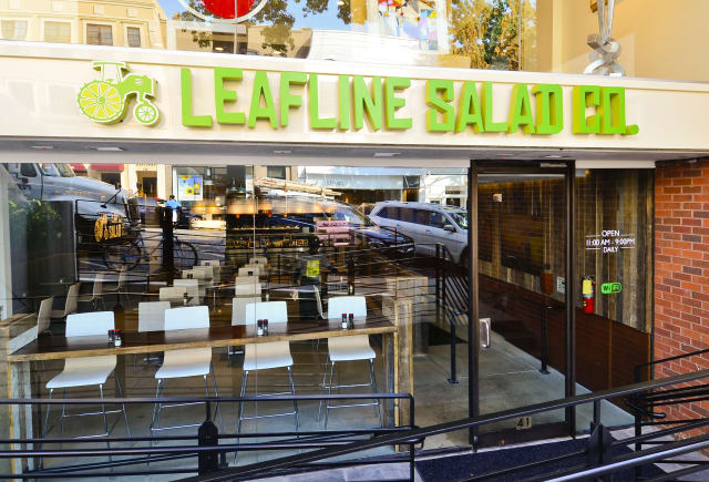 Stop by Leafline Salad Co. for a free lunch on Wednesday.
