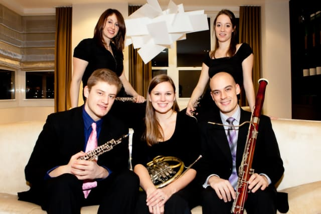 Sospiro Winds will perform on Sunday at Pleasantville Presbyterian Church.