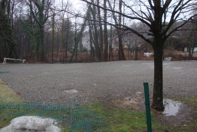 The parcel that used to be a small park on Central Avenue in Rye has sat unused for several months.