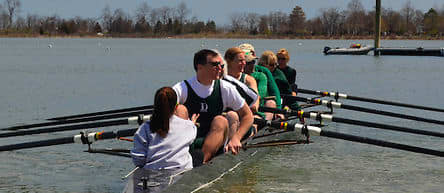 The Evergreen Boat Club will host the 2014 Alumni Sprints on Greenwich Cove in April.