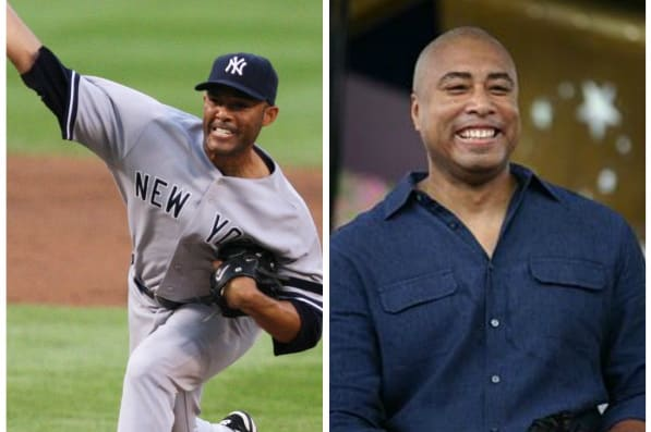 Yankees legends Mariano Rivera, left, and Bernie Williams will help raise funds for Pleasantville-based Hillside Food Outreach at a Danbury gala.