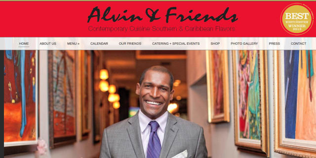 New Rochelle restaurant Alvin & Friends launched a new interactive website recently.