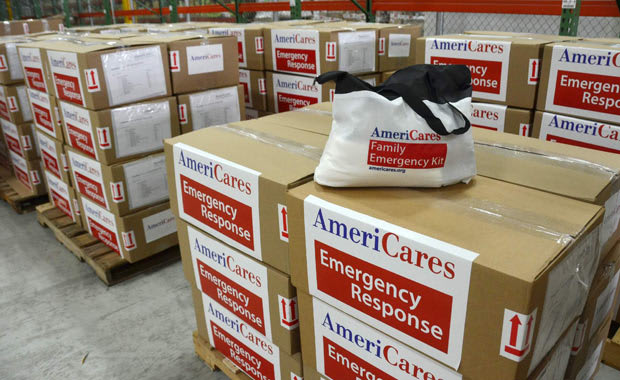 AmeriCares is shipping family emergency kits to West Virginia.