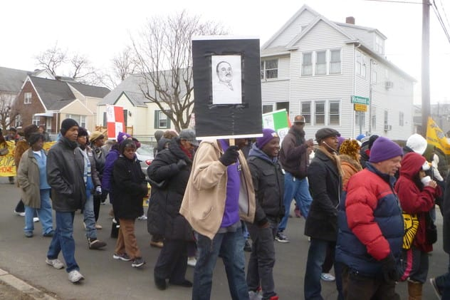 Join Stamford's annual Martin Luther King Jr. rally on Jan. 20.