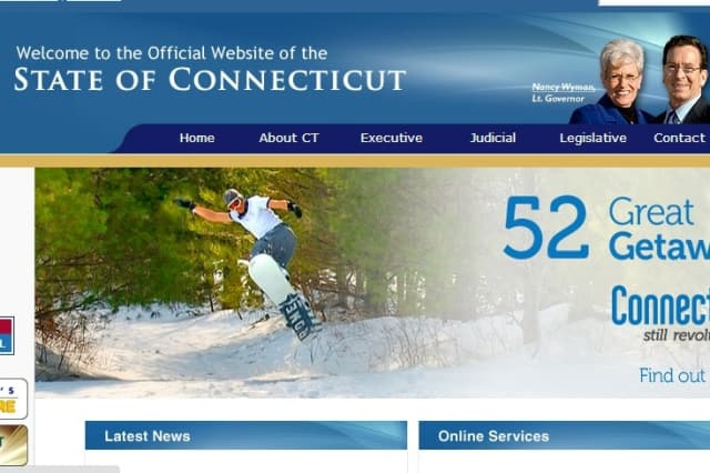 The state of Connecticut's official website will undergo a modernization.